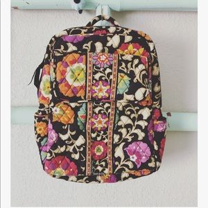 Vera Bradley Nomadic floral quilted mini backpack
